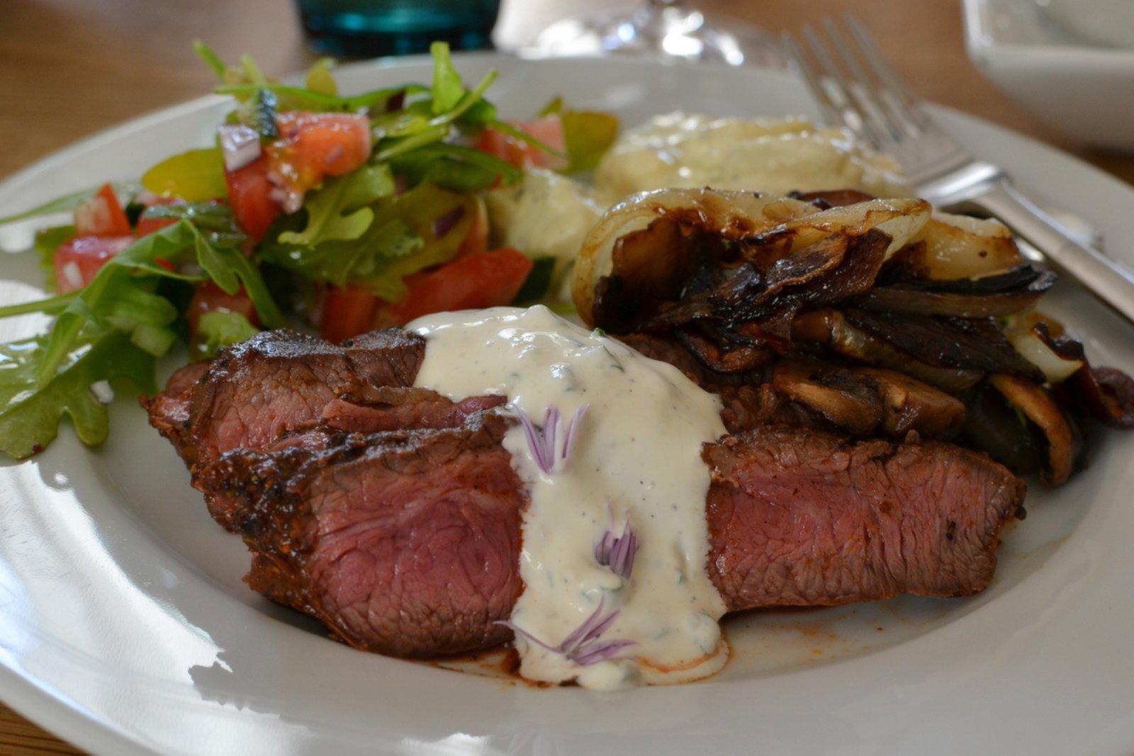 steak bon appetit!